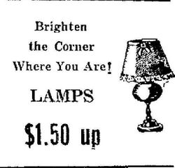 Lamps And Brighten The Corner Where You Are