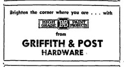 Advertising For Paint With Brighten The Corner Where You Are