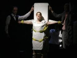 Mary Mills as Joan of Arc