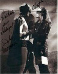 Adam West, Julie Newmar