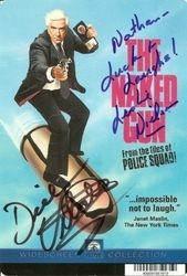 Dick Vitale (with Leslie Nielsen)