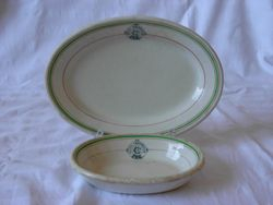 Hotel Cranbrook Plate and Bowl