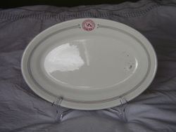 Canadian Pacific Railway Co. Oval Plate