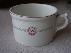 Canadian Pacific B.C.C.S.S. Chamber Pot