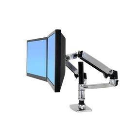 Brazo articulado LX dual 2 poste alto 45-248-026 colocar 2 pantallas