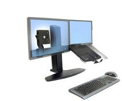 Soporte para laptop y monitor ergonomico Combo Combinacion Espacio Ergotron
