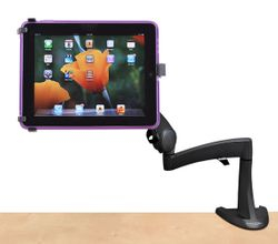 Soporte para tablets, chicas, grandes sobre mesa, escritorio