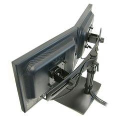 Soporte o base doble para monitores pantallas lcd led o tvs