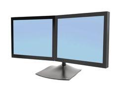 Soporte doble DS100 para monitores pantallas lcd led, ergotron, mexico, sobre mesa, escritorio