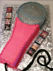Hannah Montana Microphone Cake