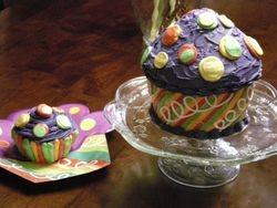 Noah's 1st B-day Cupcake