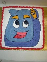 Backpack cake