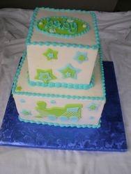 baby train cake