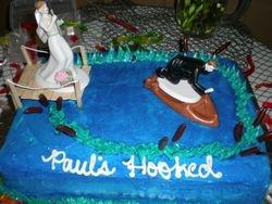 Paul's hooked