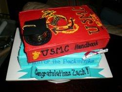 Zach's Grad Cake!