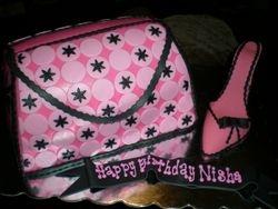 Nisha's purse & shoe