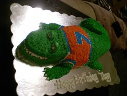 Tony's Gator Cake
