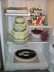 2nd fridge full of cakes!