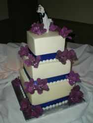 Alex's wedding cake