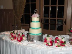 Kayla's wedding cake