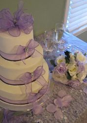 Val's wedding cake