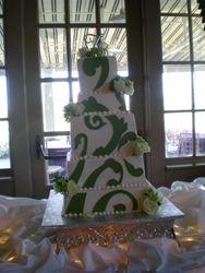 Alexis' wedding cake