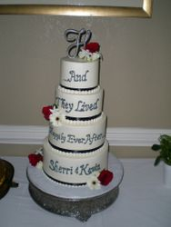 Sherri & Kevin's cake