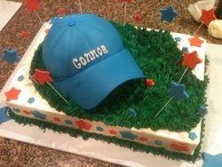 b-ball cake