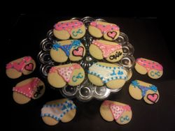 Bachelorette Booty Cookies