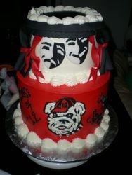 UGA Theatre Grad Cake