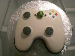 X-box controller cake