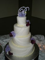 Kimberly's wedding cake