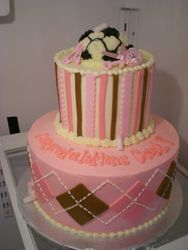 Baby shower for a soccer coach!