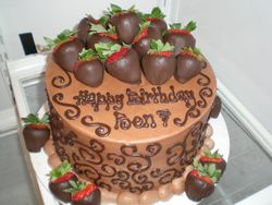 """Say """"Happy Birthday"""" in chocolate!"""