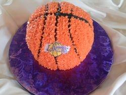 Laker's Cake