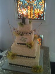 Tequilla's Wedding Cake