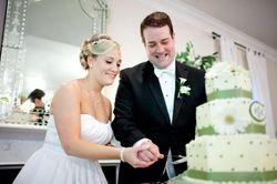 Ainsley & Ryan cutting the cake!