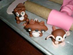 Fondant Critters