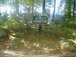 Little Round Top, Gettysburg, Pa.  9/2007