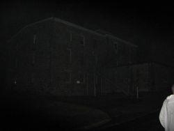 Eastside of Jail.