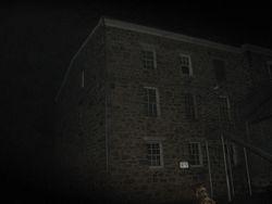 Eastside view of jailhouse