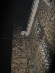 Westside of jailhouse.