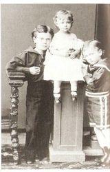 Nicholas,Xenia, and George