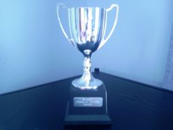 Blazers Player of the year cup