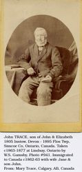 John Trace Born 1805