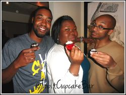 Satisfied customers with Cupcake Cory
