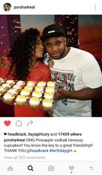 Porsha Williams Birthday with HeadKrack