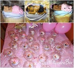 Custom edible handmade baby toppers