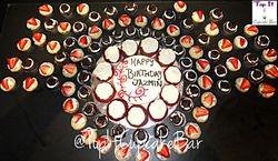 Cupcake Cake w/minis