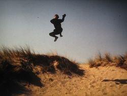 jumping kick